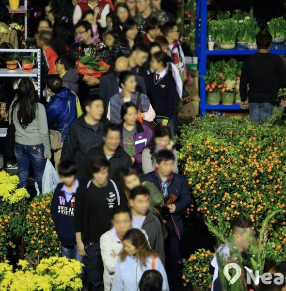 荃灣沙咀道遊樂場年宵市場 2018