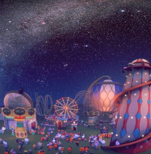 《與星同源3D》香港太空館立體球幕電影