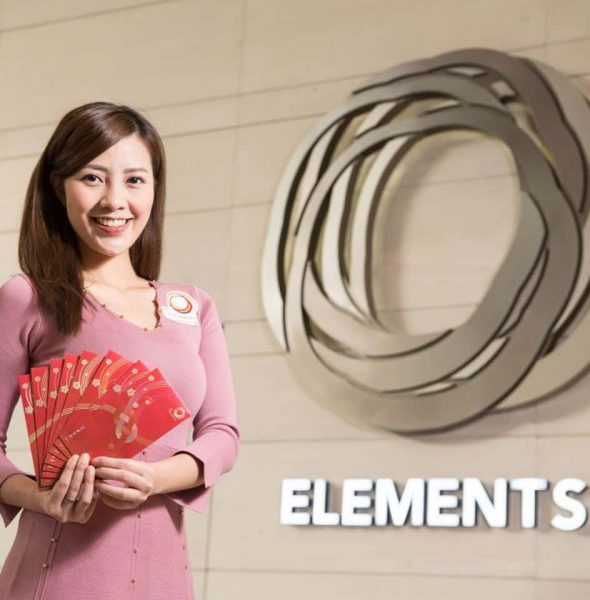ELEMENTS 圓方:願望『繩』真 新春藝術裝置