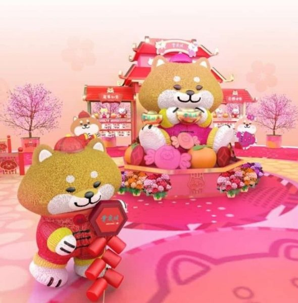 青衣城 × SHIBAinc 柴犬工房新年布置