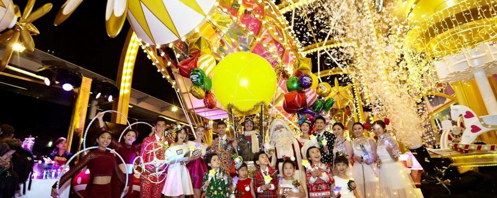 2017 香港聖誕打卡拍照 6 大必去景點:商場聖誕燈飾+卡通人物主題布置