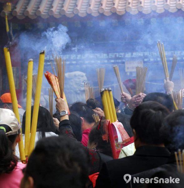 黃大仙祠上頭炷香 2018